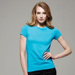 bella-ladies-short-sleeve-heather-jersey-t-shirt-6000h